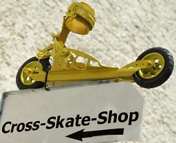 Eingang zum Cross-Skate-Shop