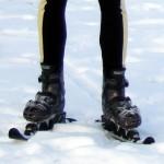 """Mit Skateslidern auf Schnee """"cross-skaten"""""""