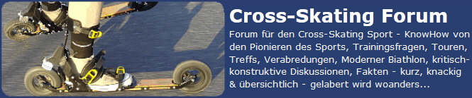 Cross-Skating-Forum
