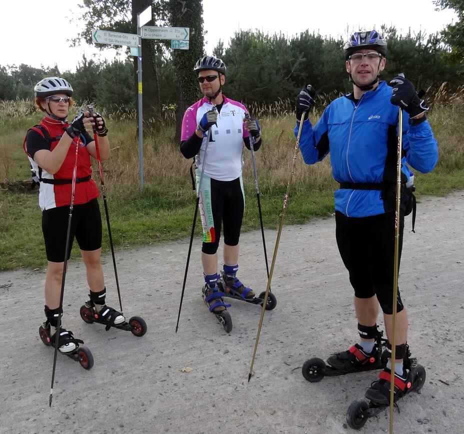 Halbzeit - Cross-Skater auf Tour