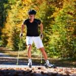 Der Rollski-Sport und Skiroller