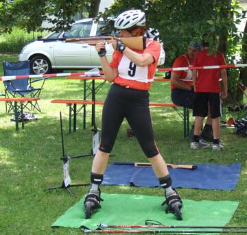 Professioneller Stil beim Modernen Biathlon auch im Amateurbereich