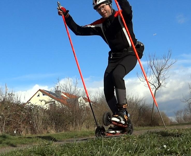 Effektiv trainieren auf Cross-Skates