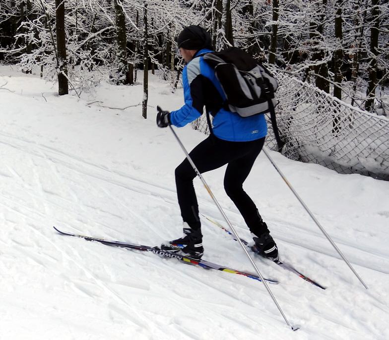 Ski-Skating ist für Cross-Skater ein willkommener Winterspaß
