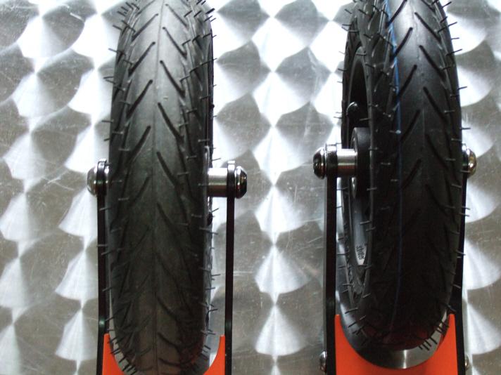Detail vom SRB XRS02 und XRS03 aus der Cross-Skate-Shop Werkstatt