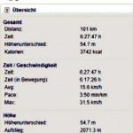 100 km-Tour Frankfurt-Höchst nach Seligenstadt und zurück