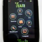 Alles easy mit dem Teasi One GPS-Navigationsystem