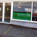 Neueröffnung des Cross-Skate-Shops in idealer Lage