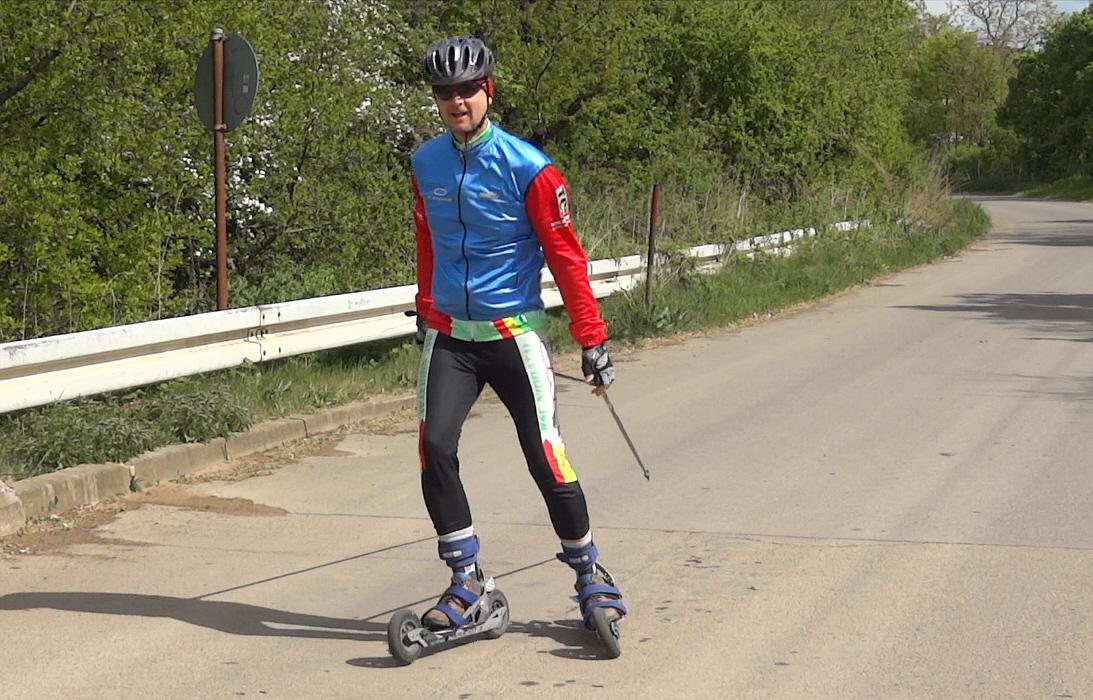 Deutscher Vizemeister Strasse im Cross-Skating 2014