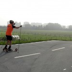 Interessantes Cross-Skate Rennen in Trebur