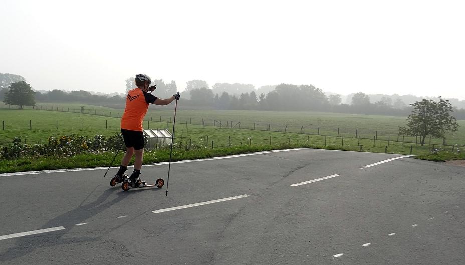 Interessantes Cross-Skate Rennen in Trebur