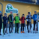 Skating Langlauf Kurswochenende in Klingenthal im Dezember 2014 und Januar 2015