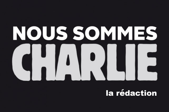 je suis Charlie, nous somme Charlie