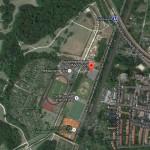 Strecke checken und Training im Frankfurter Niddapark