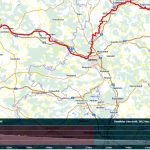 Main-Radweg-Tour mit Cross-Skates, Teil 1