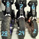 6, 7, oder 8 Zoll… Welche Reifen Größe ist die richtige?