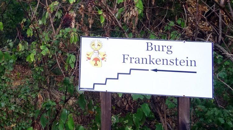 Tour zur Burg Frankenstein im Odenwald