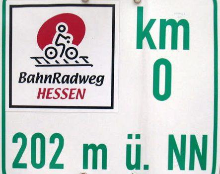 Der Fernradweg Hanau Bad Hersfeld für Cross-Skater und Radfahrer
