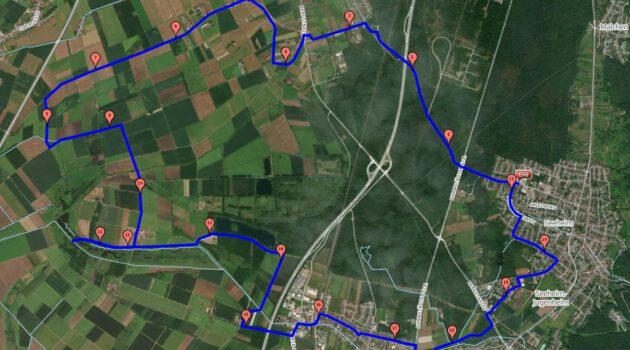 Einladung zur Bergstraßen Cross-Skate Tour bei Seeheim über 21 km